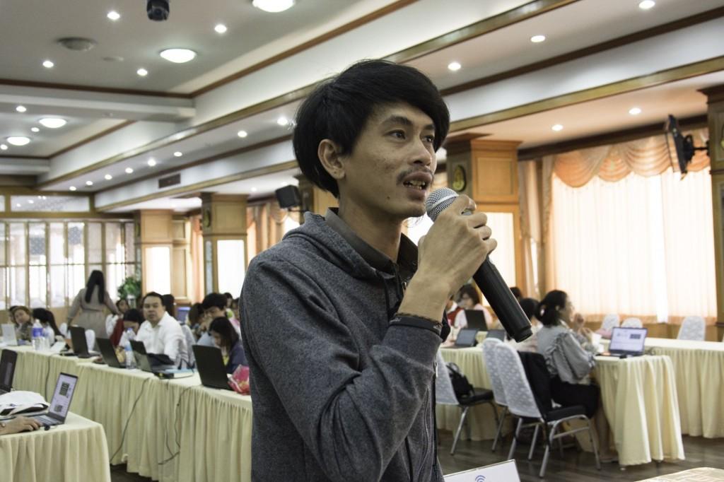 การอบรมเชิงปฎิบัติการ การพัฒนาสื่อดิจิทัลด้วย InfoGraphic Presentation โรงเรียนปากเกร็ด